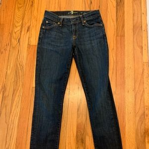 7 For Mankind Cigarette Jeans